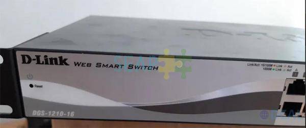 Switch DLINK 16 porturi Gigabit, fiber